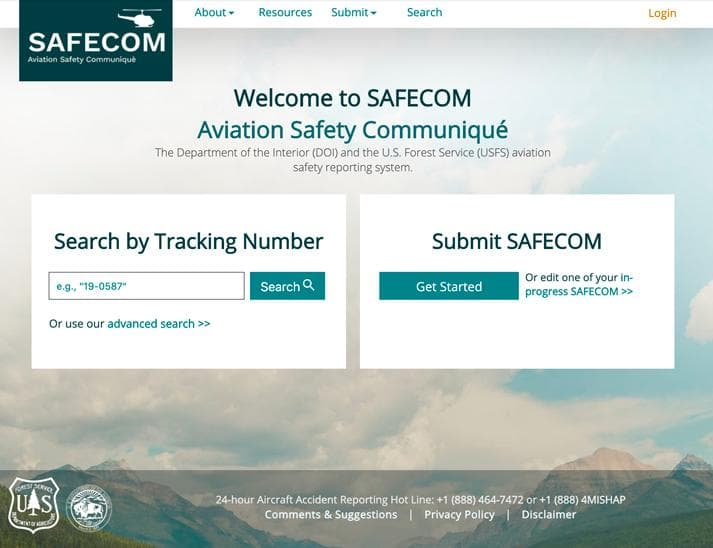 Screen shot of Safecom.